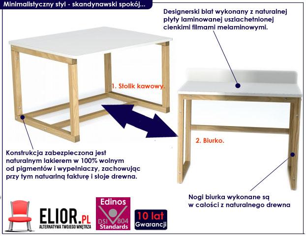 biurko dla dziecka Inelo X10