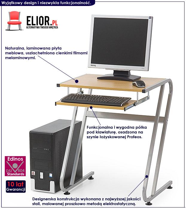biurko do komputera małe Protis 5X