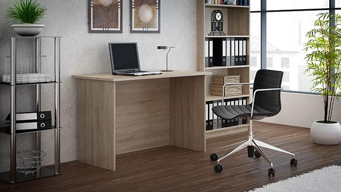 Skandynawskie biurko dąb sonoma Stanis