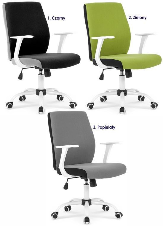 Biurowe krzesło obrotowe do komputera Aldor