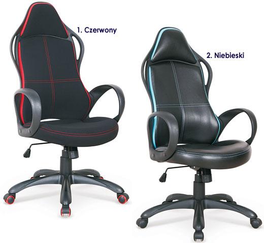 Czarny fotel obrotowy dla gracza Arlen