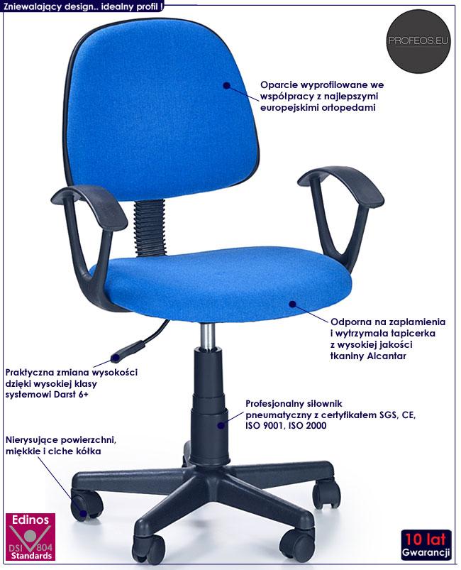 Fotel obrotowy Bomer