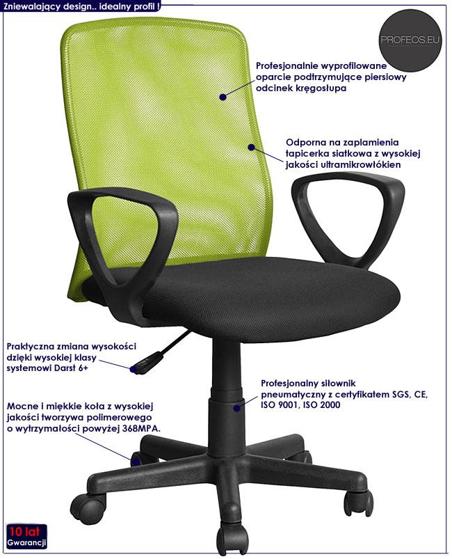 fotel dla gracza Dexter