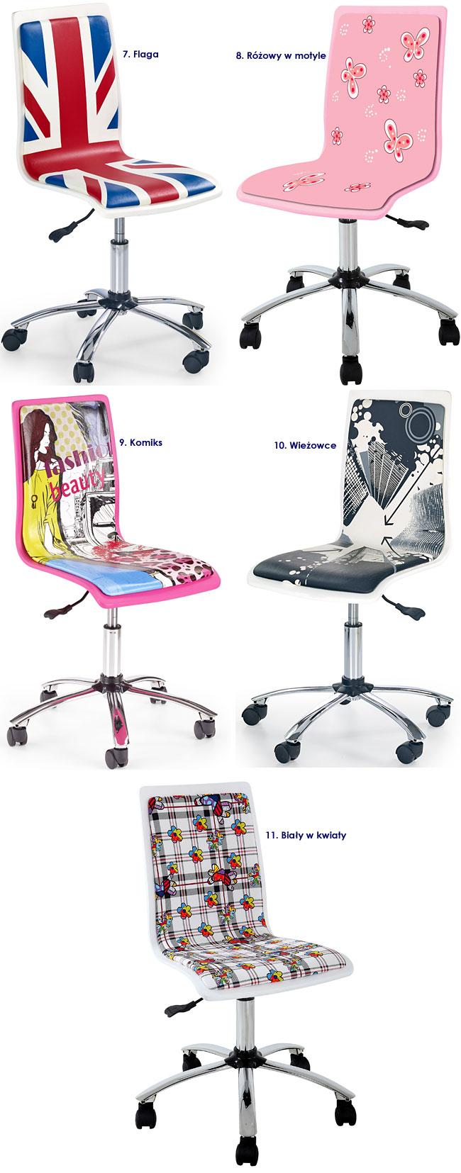 fotel dla dziewczynki Gimmer