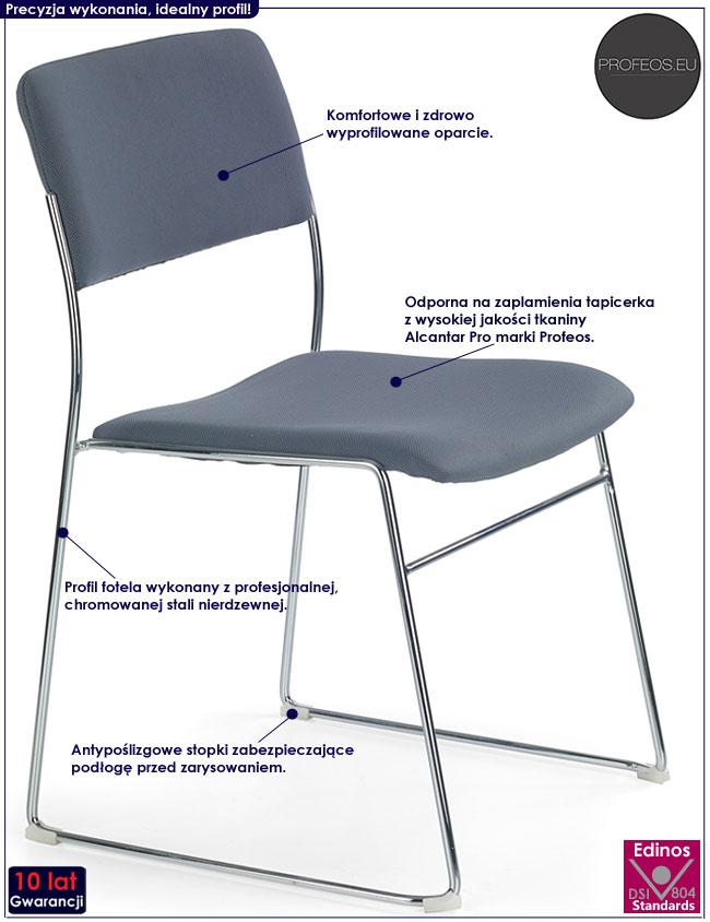 Krzesło konferencyjne do biura Holden