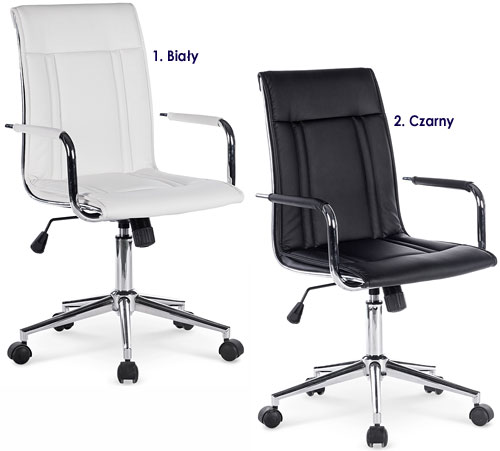 Nowoczesne krzesło biurowe do komputera Lenton