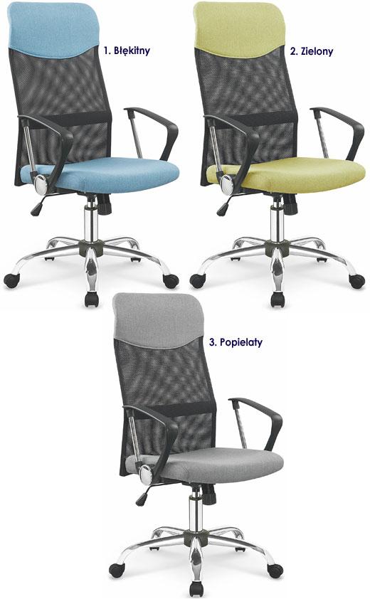 Tapicerowane krzesło biurowe, obrotowe Nixon