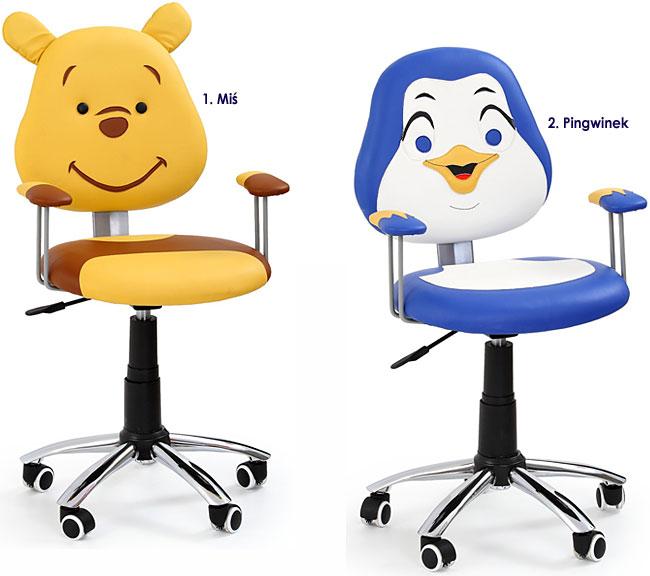 fotel obrotowy dziecięcy Odi