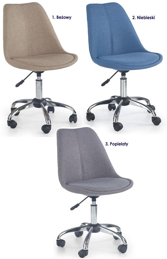 Obrotowe krzesło dla dziecka Raxan