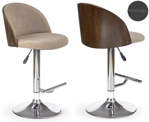 Kuchenne krzesło hoker beżowy Litor