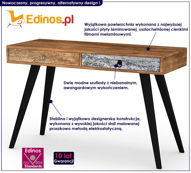 nowoczesne biurko Dizo X3