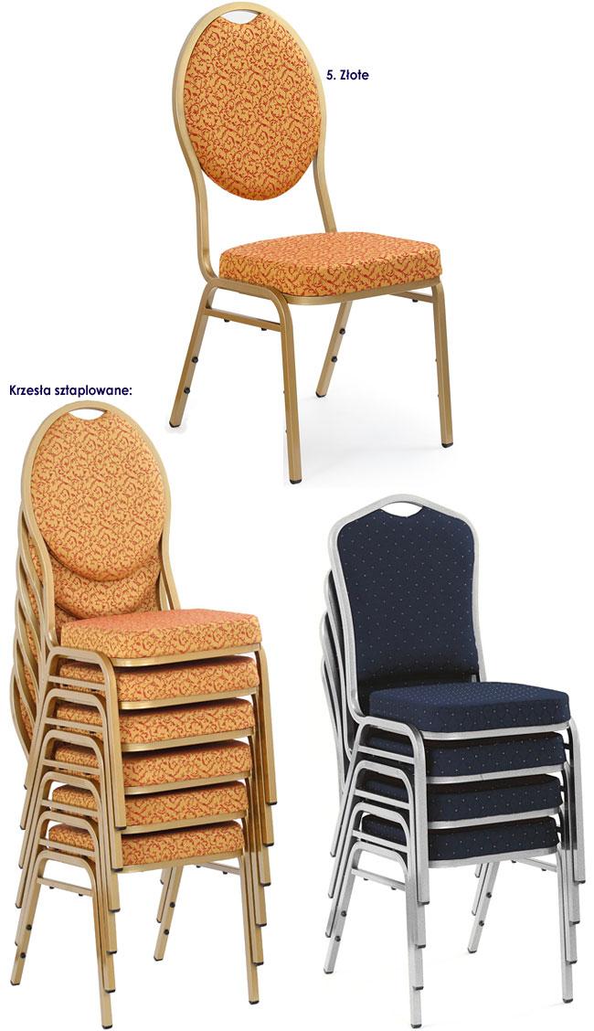 Eleganckie krzesło tapicerowane Abrax