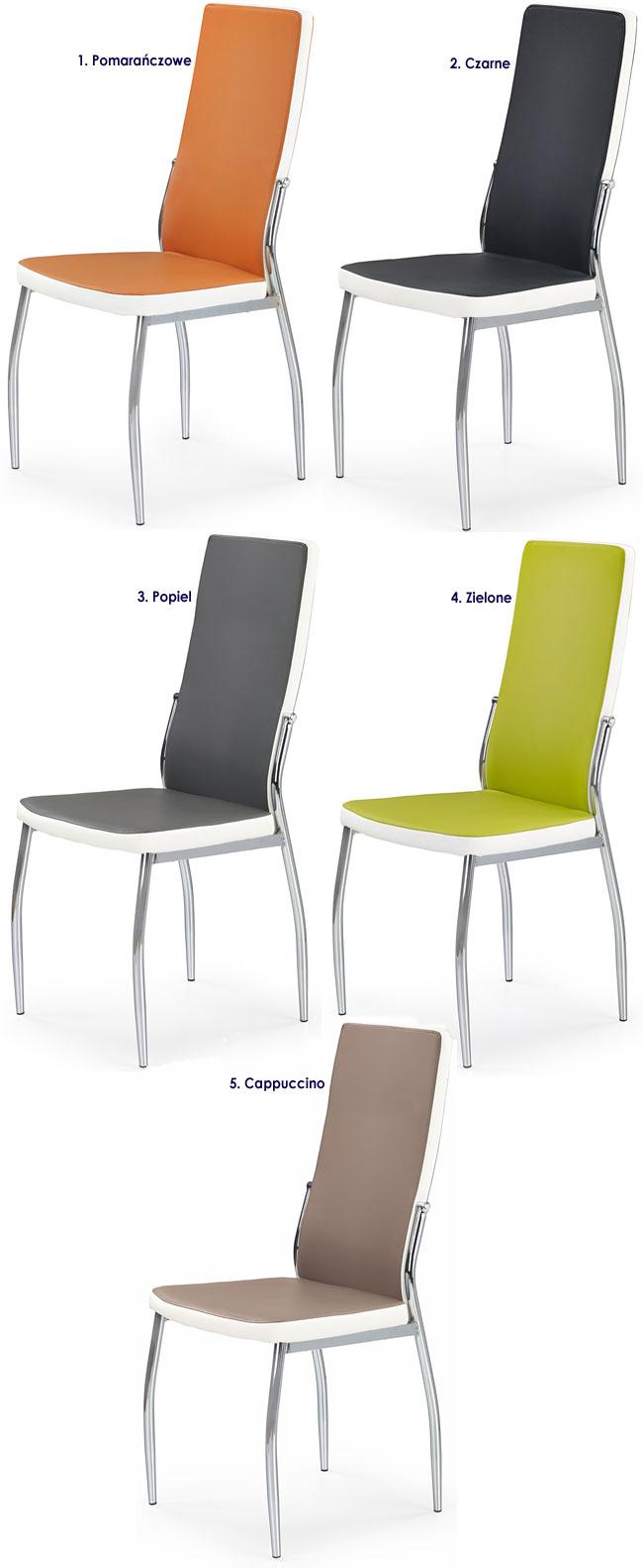 Krzesło kuchenne, tapicerowane Abrim
