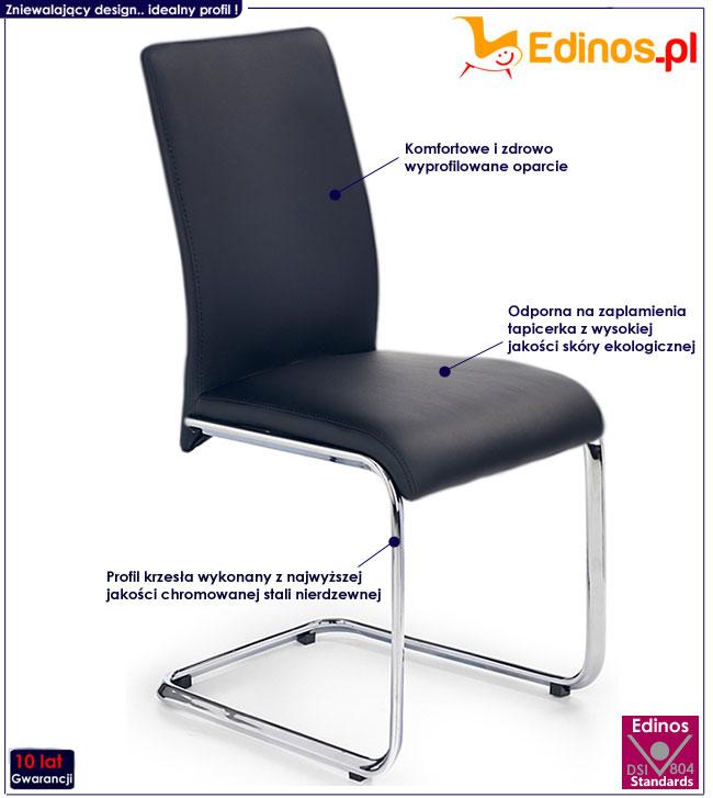 krzesło metalowe Alec