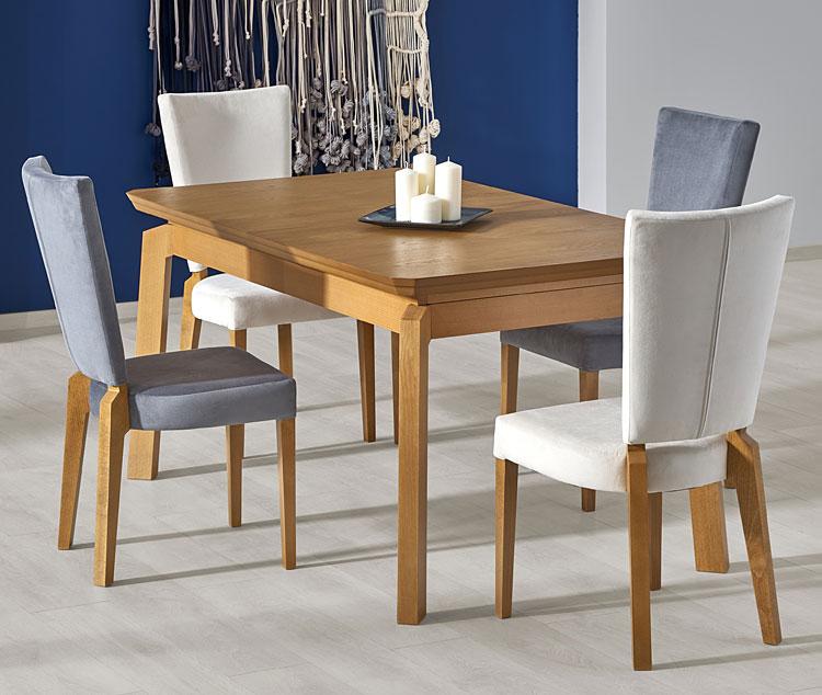Drewniane krzesło kuchenne do stołu Amols