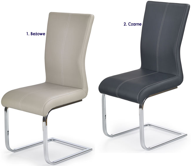 Nowoczesne krzesło do jadalni, salonu Aspen