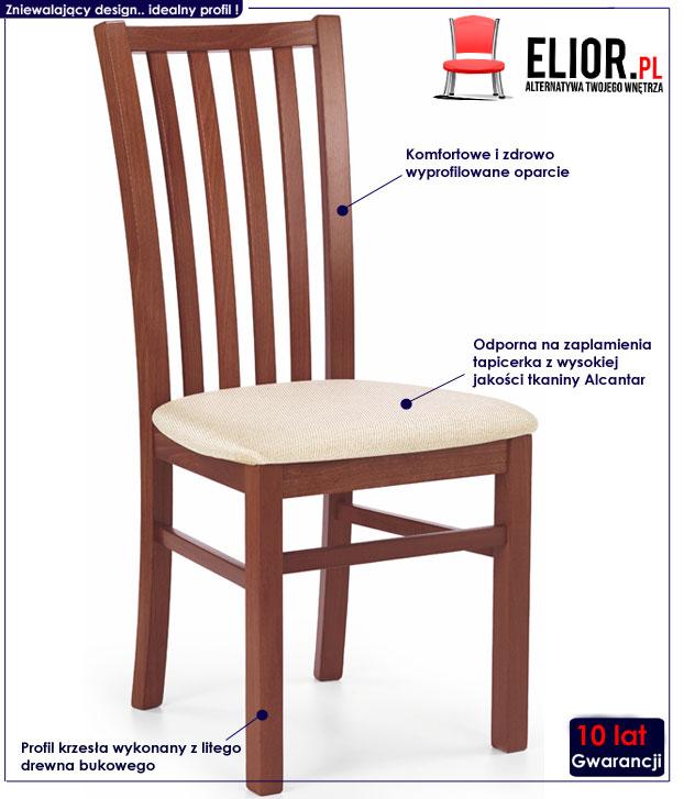 Krzesło drewniane Billy