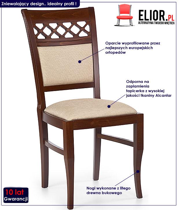 krzesło drewniane Buster