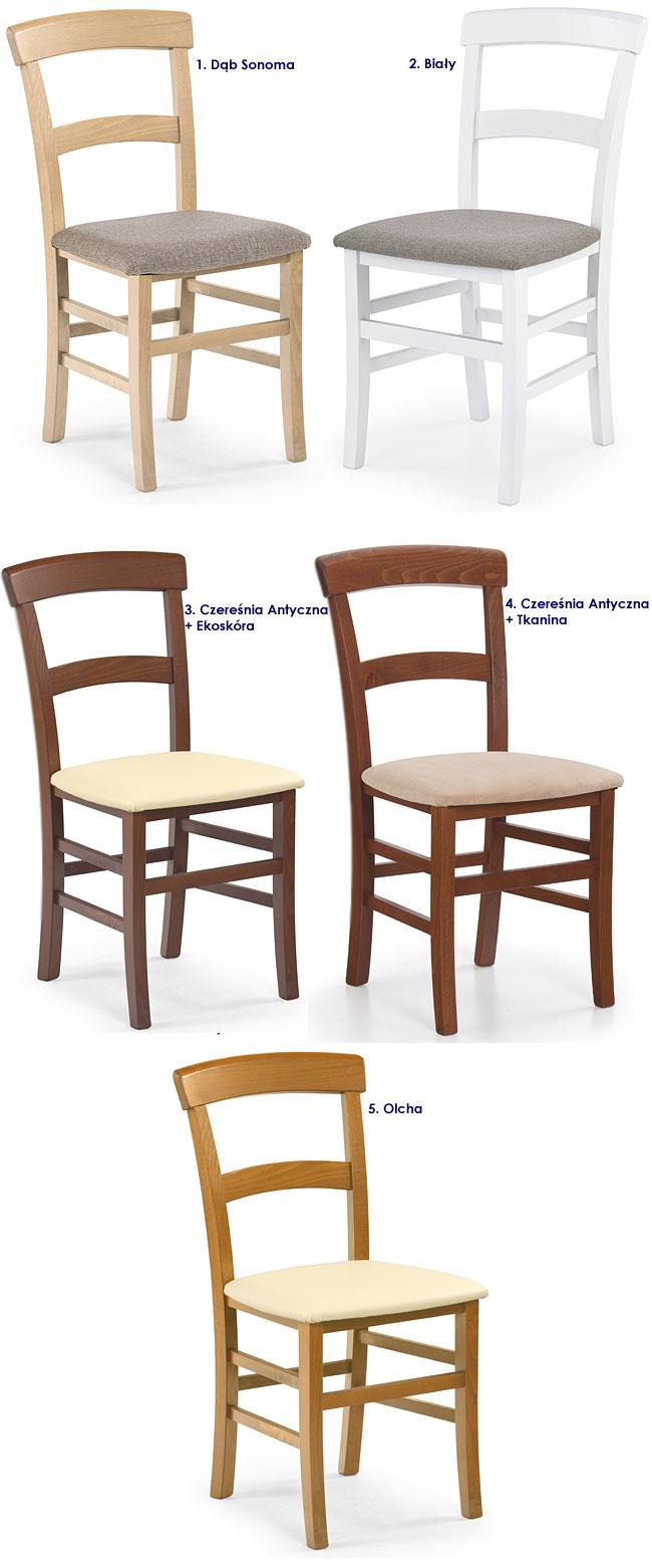 krzesło tapicerowane Caper