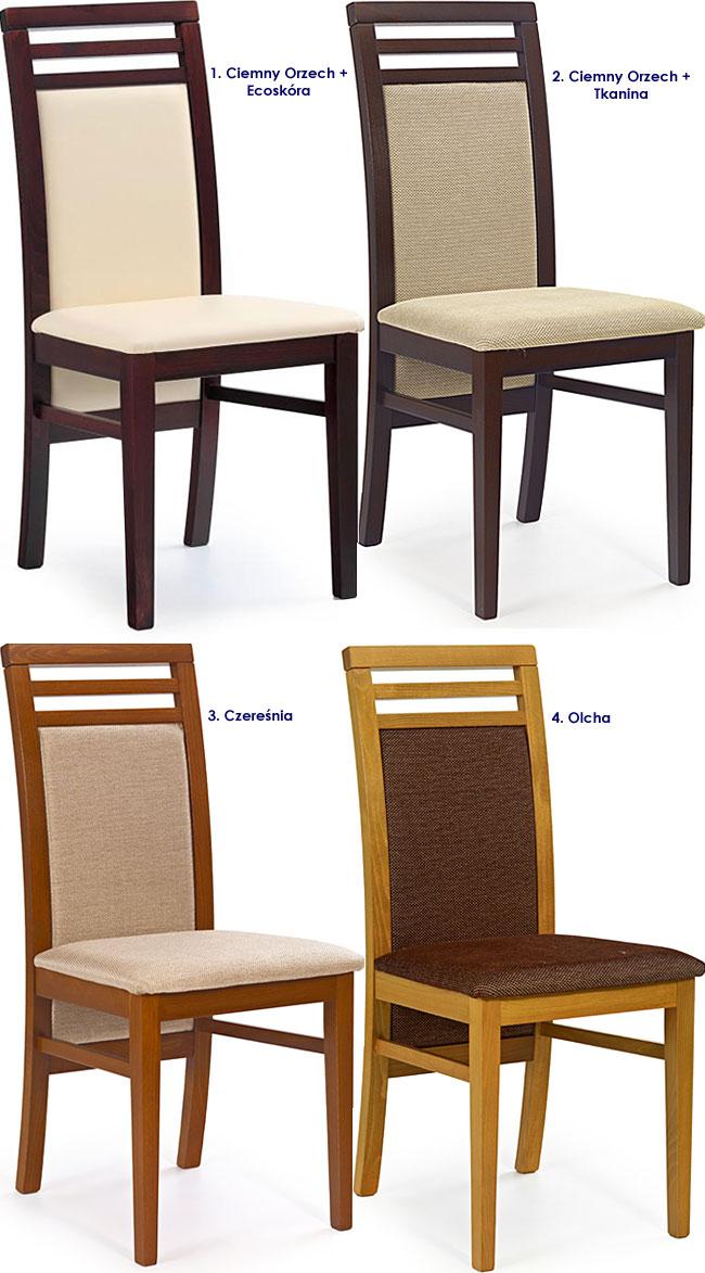 krzesło tapicerowane Clark