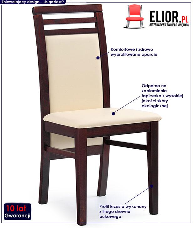 krzesło drewniane Clark