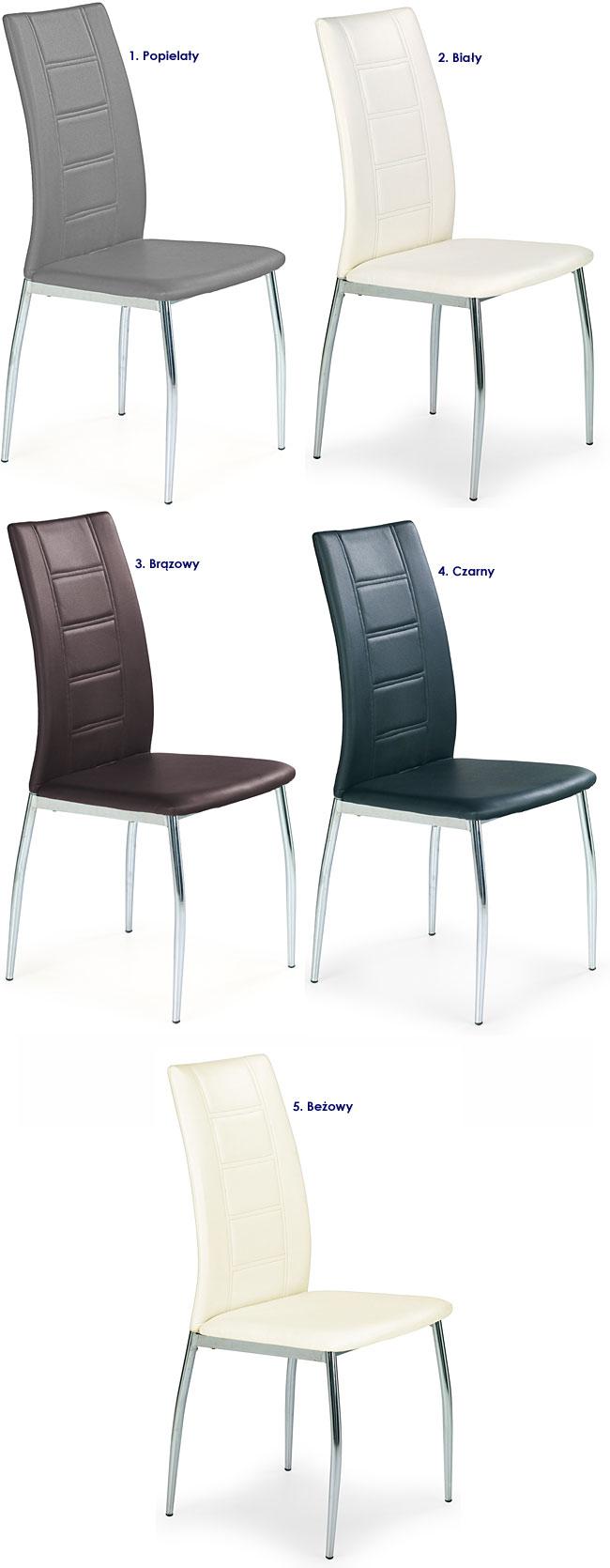 Krzesło tapicerowane Colin