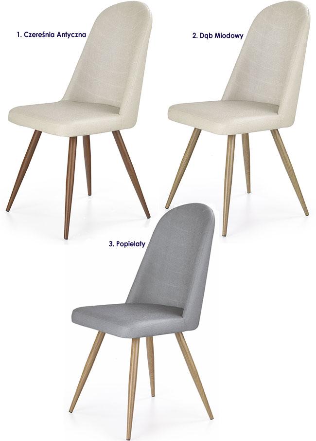 Nowoczesne krzesło tapicerowane Dalal