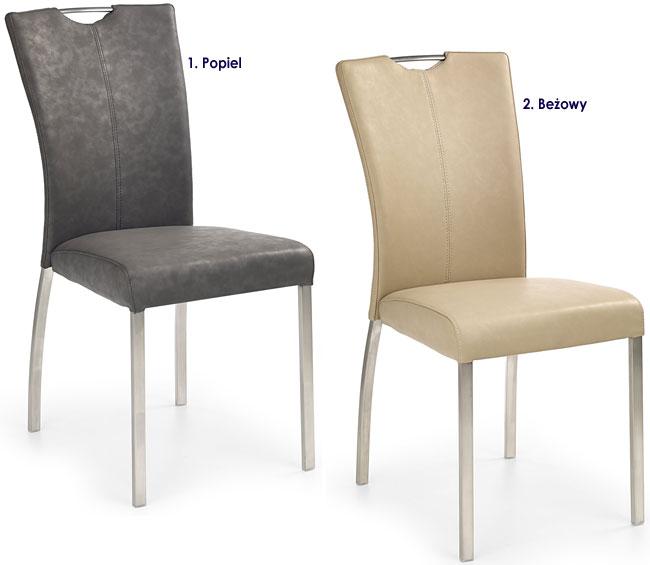 Metalowe krzesło do kuchni, salonu,jadalni Defiks