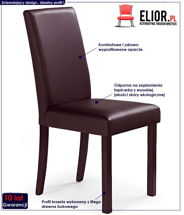 krzesło drewniane Deimer