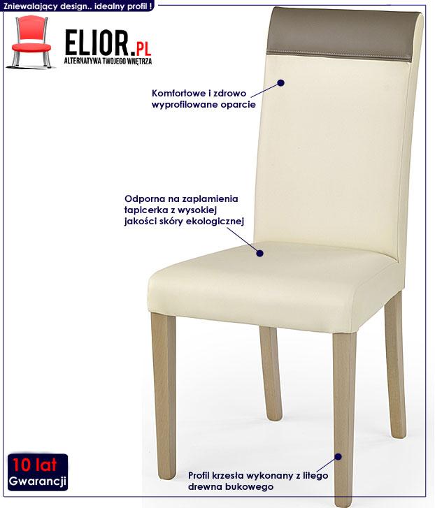 krzesło drewniane Devon