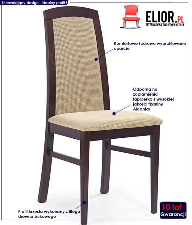 krzesło drewniane Dorian