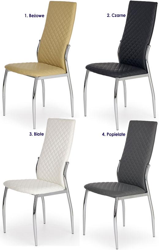 Tapicerowane krzesło do stołu, kuchni, salonu Edson