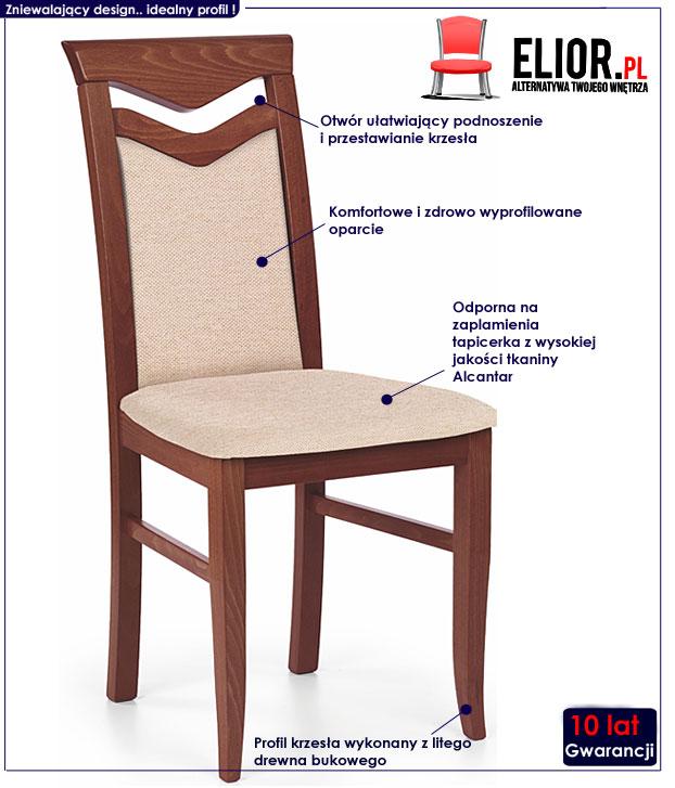 krzesło do salonu Eric