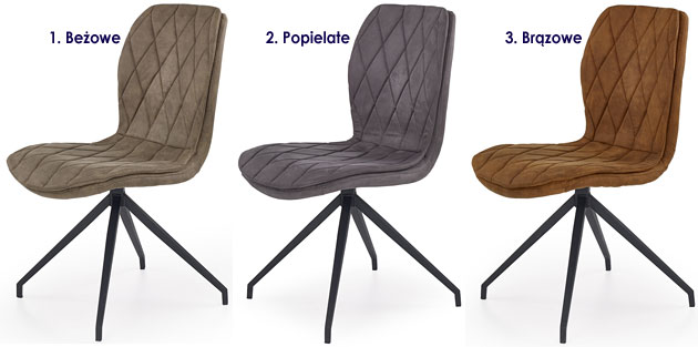 Industrialne krzesło do stołu, biurka Gimer