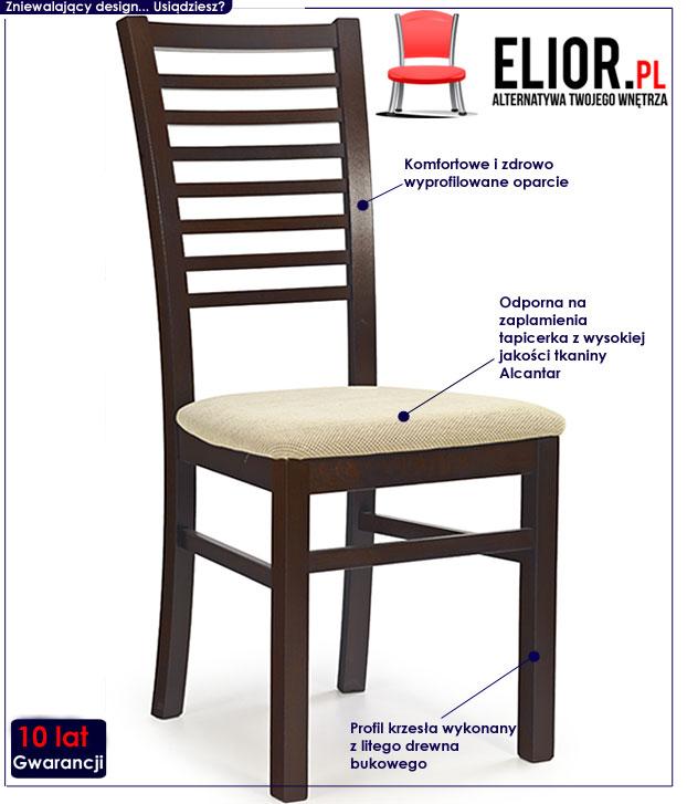 krzesło drewniane Gizmo