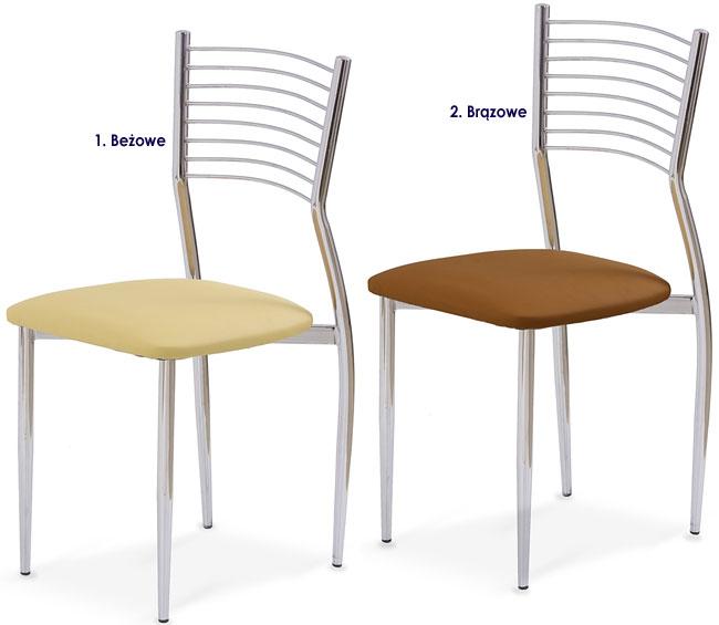 Kuchenne krzesło metalowe Hider