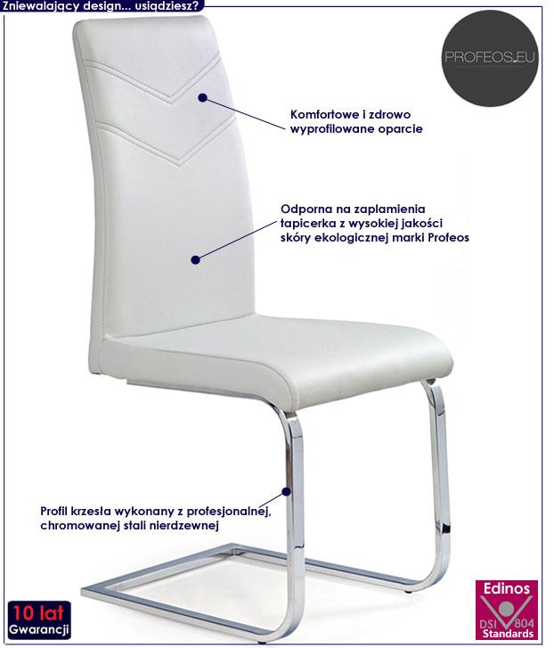 krzesło drewniane Hiper