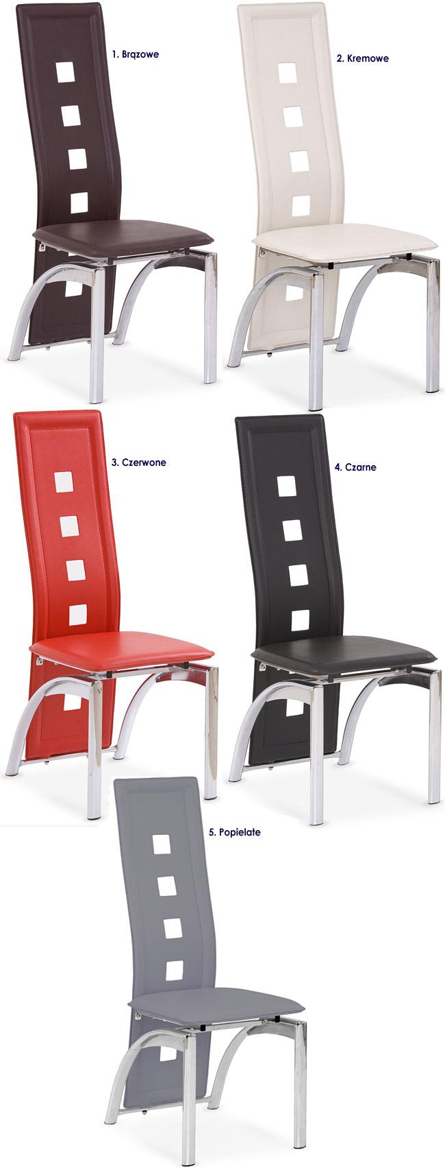 Nowoczesne krzesło tapicerowane Imper