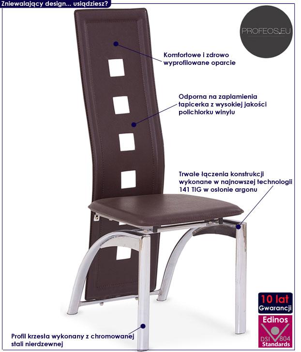 Kuchenne krzesło do stołu Imper