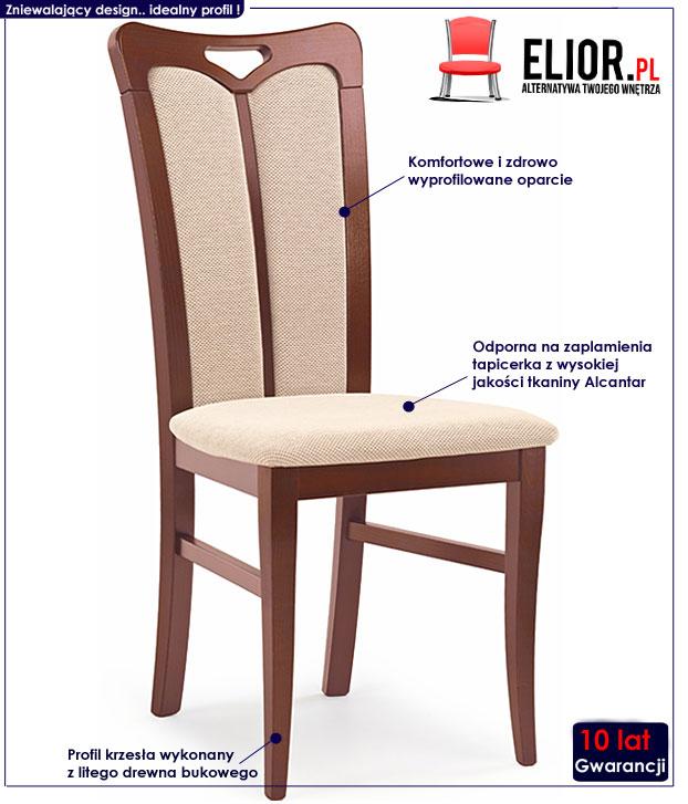 krzesło drewniane Jonker