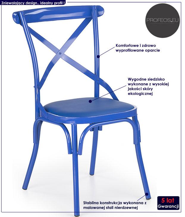 krzesło kuchenne Kendal