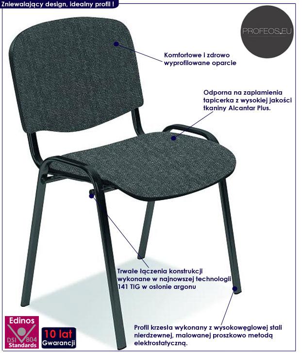 krzesło konferencyjne dilos