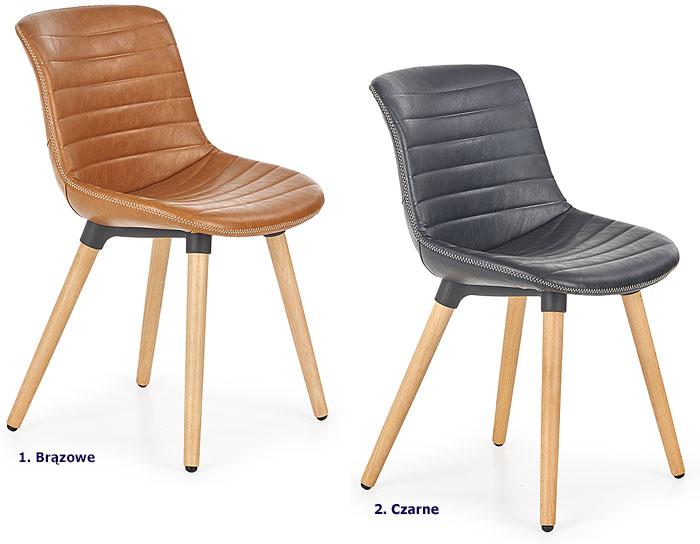 Drewniane krzesło kuchenne Lorien