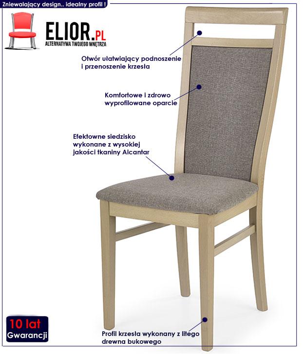 krzesło drewniane Martin