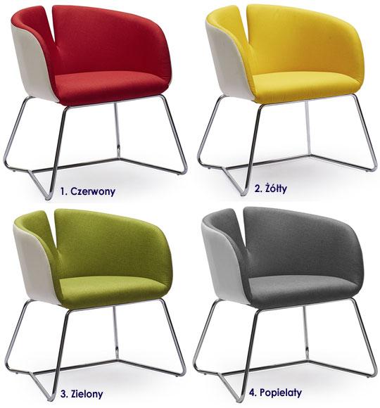 Tapicerowany, nowoczesny fotel do oglądania tv Milton