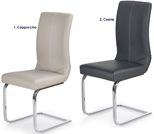 Tapicerowane krzesło do jadalni, salonu Nekker