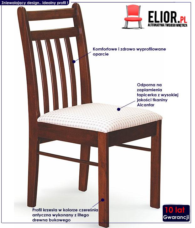 krzesło drewniane Neron