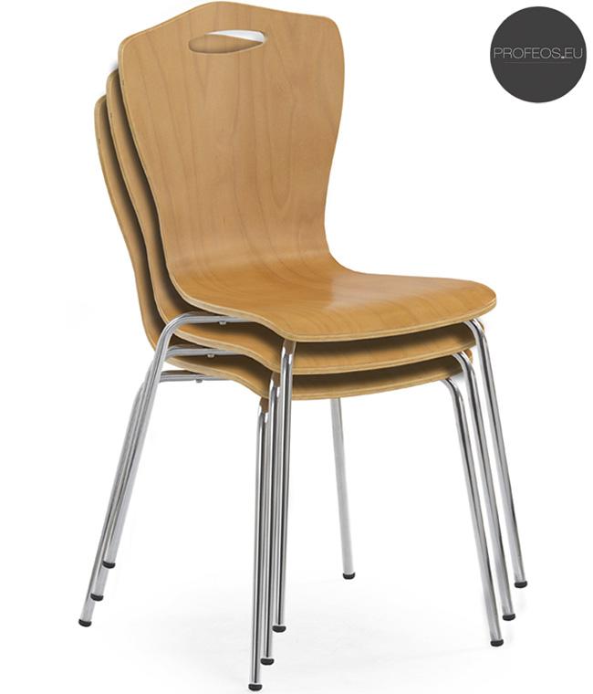 Profilowane krzesło do jadalni Noder