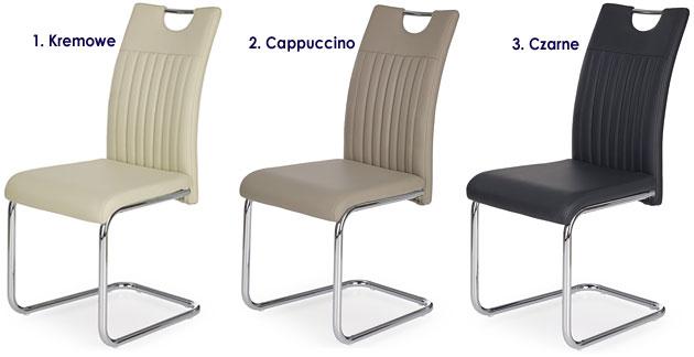 Tapicerowane krzesło do kuchni, salonu, jadalni Noxin