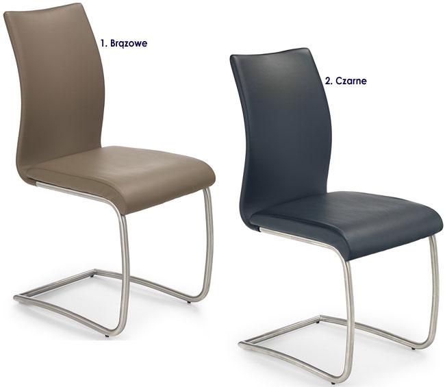 Metalowe krzesło do kuchni, jadalni Ofler